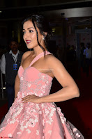 Catherine Tressa looks super cute in strapless sleeveless deep short dress at 64th Jio Filmfare Awards South ~  Exclusive 001.JPG]